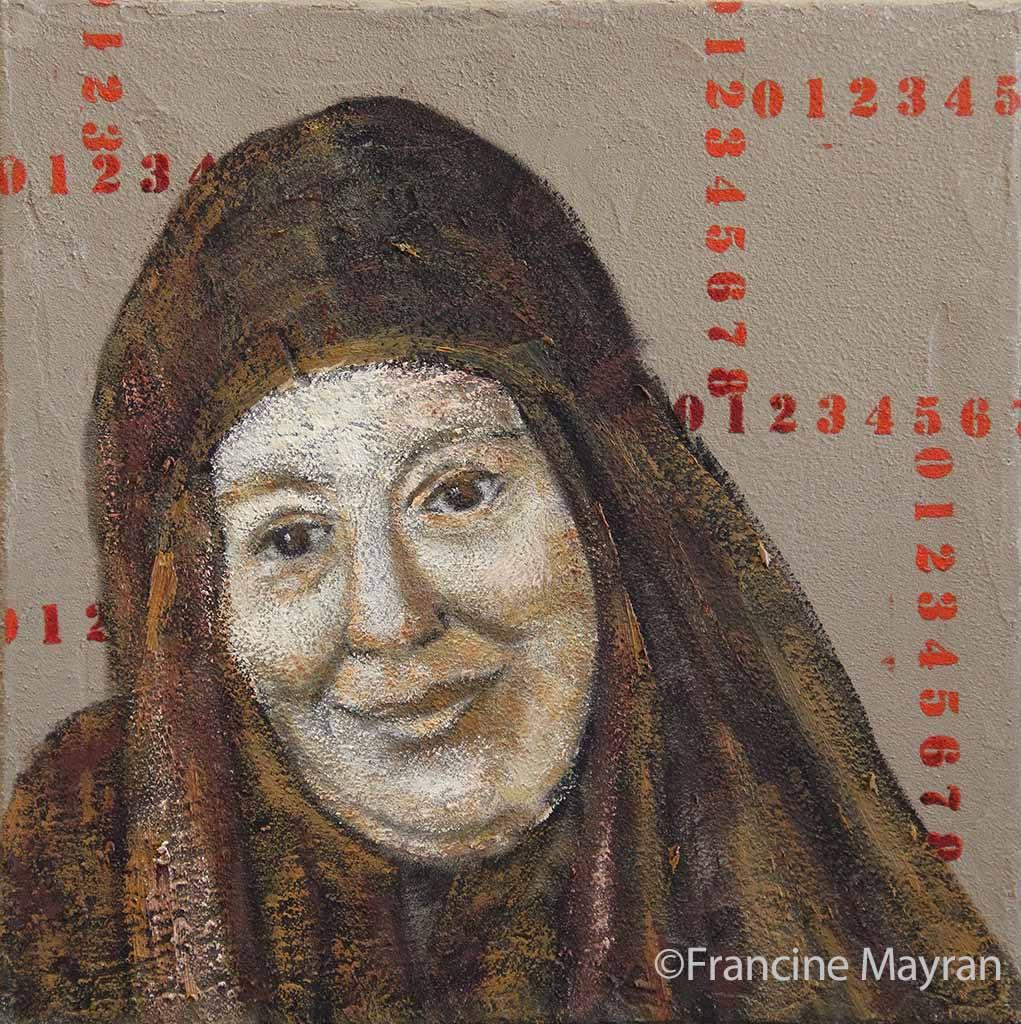 Portrait par Francine Mayran