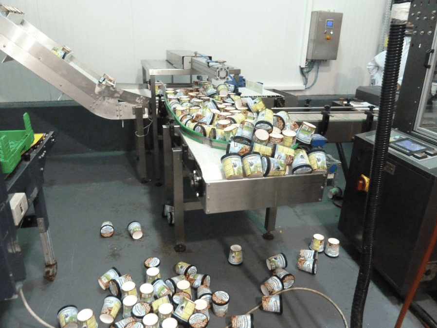 Ben & Jerry's factory during rocket attack in Beer Tuvia