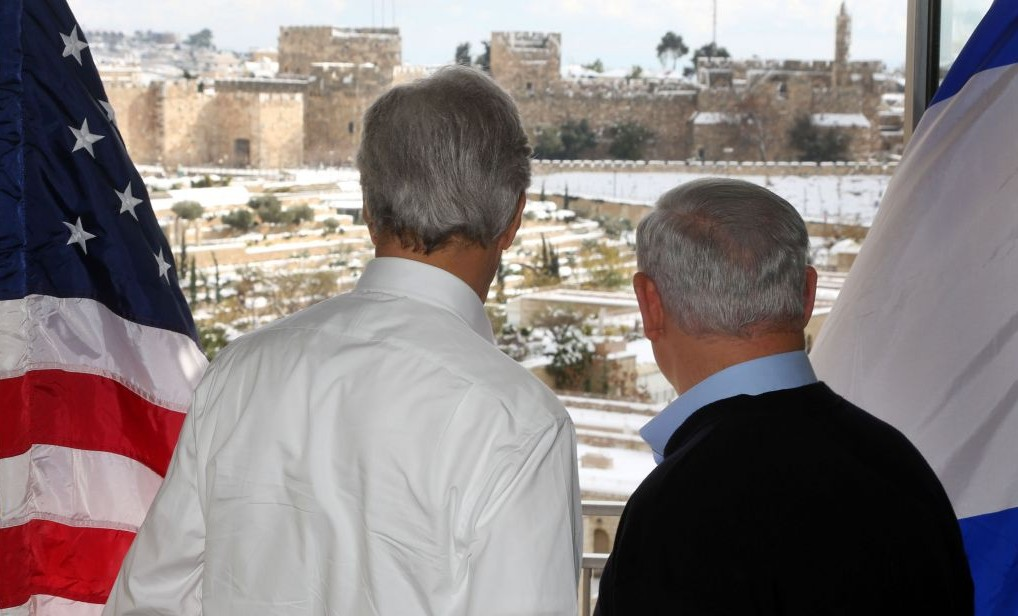 Image result for netanyahu kerry jerusalem