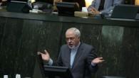 Le chef de la diplomatie iranienne, Mohammad Javad Zarif, à Téhéran le 27 novembre 2013 (Crédit : AFP/Archives Atta Kenare)