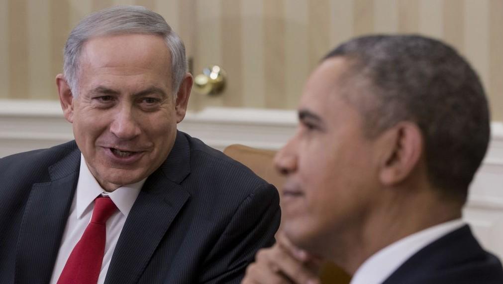 El presidente estadounidense Barack Obama se reúne con el primer ministro Benjamin Netanyahu en la Oficina Oval de la Casa Blanca en Washington, Lunes, 03 de marzo 2014 (Foto: AP / Pablo Martinez Monsivais)