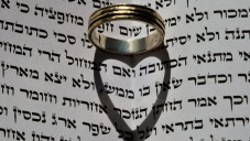 Une image illustrant une bague de fiançailles (Crédit : Shay Levy/Flash 90)