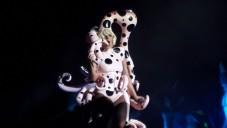 Lady Gaga en concert à Tel Aviv - 13 septembre 2014 (Crédit : Debra Kamin/Times of Israel)