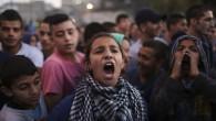 Manifestation palestinienne à Issawiya à Jérusalem-Est le 12 novembre 2014 (Crédit : Hadas Parush/Flash90)