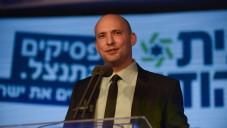 Naftali Bennett à Ramat Gan, le 15 janvier 2015 (Crédit : Ben Kelmer/Flash90)