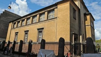 La grande synagogue de Copenhague (Crédit : JERRYE & ROY KLOTZ MD / Wikipedia)