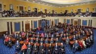 Photo du 111ème Sénat des Etats-Unis prise dans la chambre des Sénateurs au Capitole à Wahington (Crédit : Senate Photo Studio)