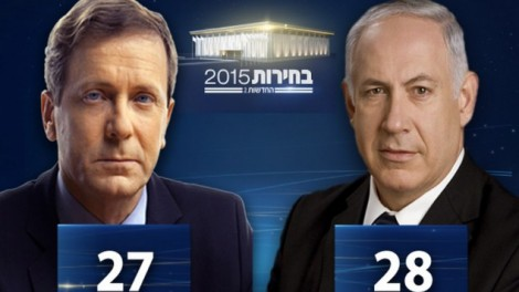 Capture d'écran Deuxième chaine des estimations des résultats des élections le 17 mars à 22h (Crédit : Capture d'écran Deuxième chaîne)
