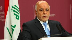 Le Premier ministre irakien Haider Al-Abadi (Crédit : CC BY 2.0)