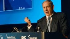 Le Premier ministre Benjamin Netanyahu à la conférence de Herzliya, le 9 juin 2015 (Amos Ben Gershom / GPO)