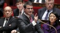 Le Premier ministre français Manuel Valls à l'Assemblée nationale à Paris le 11 février 2015 (Patrick Kovarik / AFP)