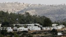 L'implantation de Halamish en Cisjordanie (Crédit : Miriam Alster / Flash90)