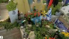 La tombe du soldat Lee Matt au cimetière militaire du Mont Herzl à Jérusalem (Crédit :  Capture d'écran Walla)