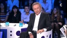 Capture d'écran YouTube Michel Drucker dans l'émission On n'est pas couché