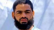 Le prisonnier palestinien Mohammed Allaan, membre du Jihad islamique, est en grève de la faim depuis 55 jours au 8 août 2015 (AFP)