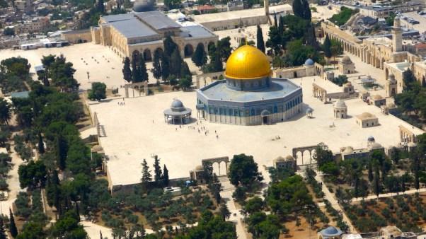 Mezquita de Al-Aqsa en el Monte del Templo (Qanta Ahmed)