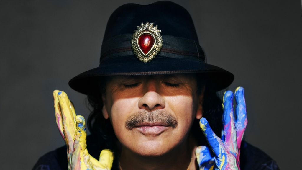 Iconic musician Carlos Santana will perform in Tel Aviv this summer, several months following the release of a new studio album, 'Santana IV' (Courtesy Carlos Santana)