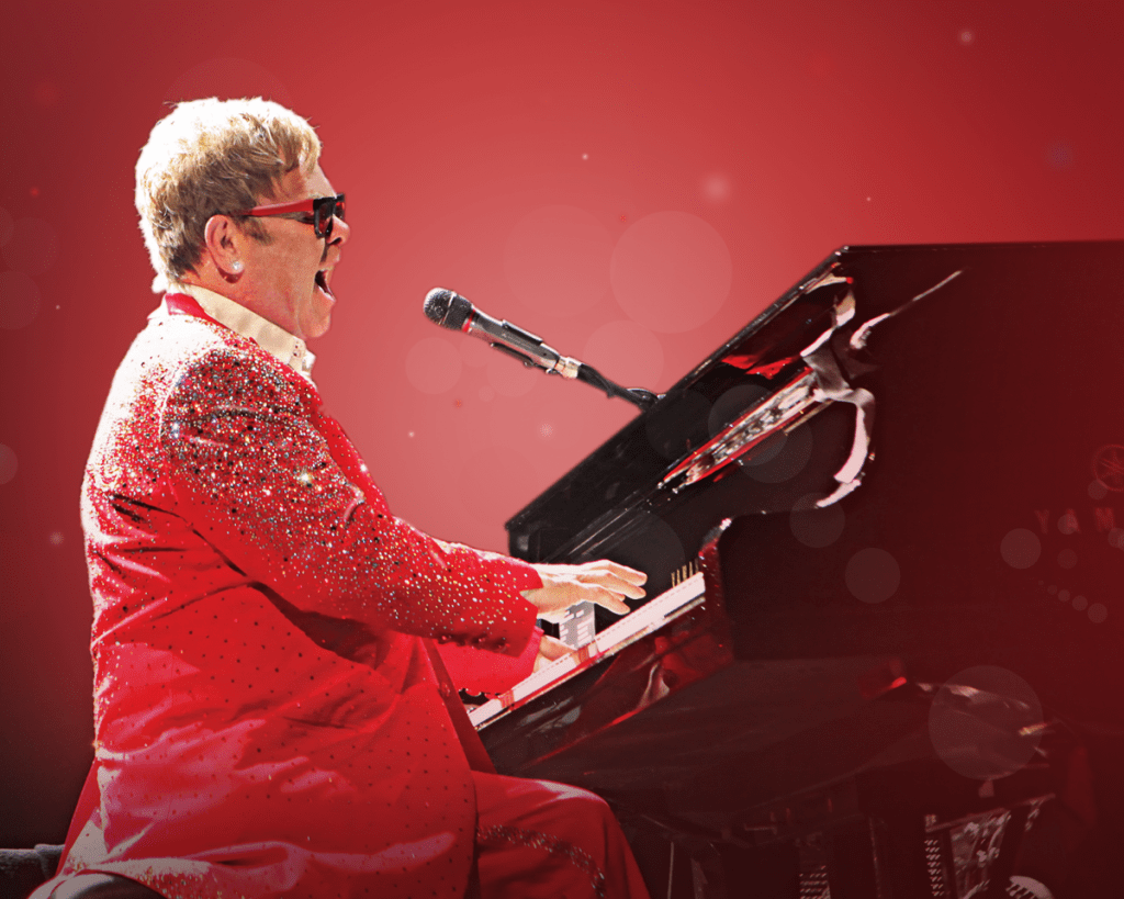 Elton John's last concert in Israel was in 2010, and he said that 'no one could have stopped him from performing in Israel' (Courtesy Shuki Weiss)