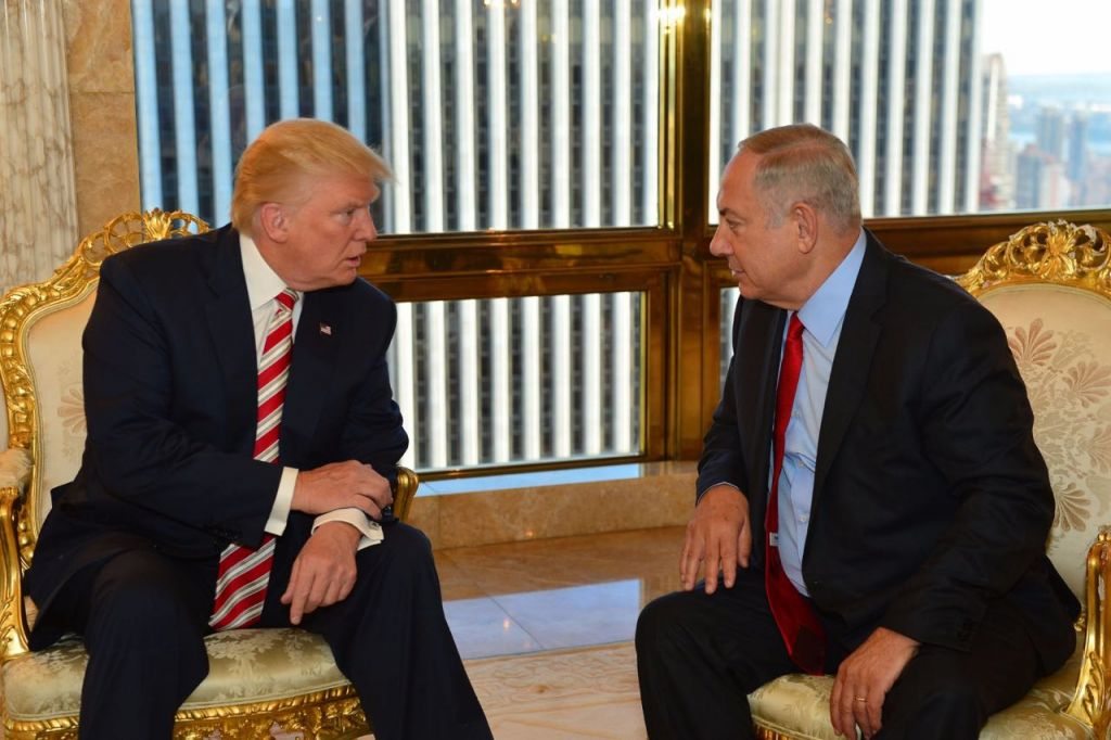 Image result for trump netanyahu