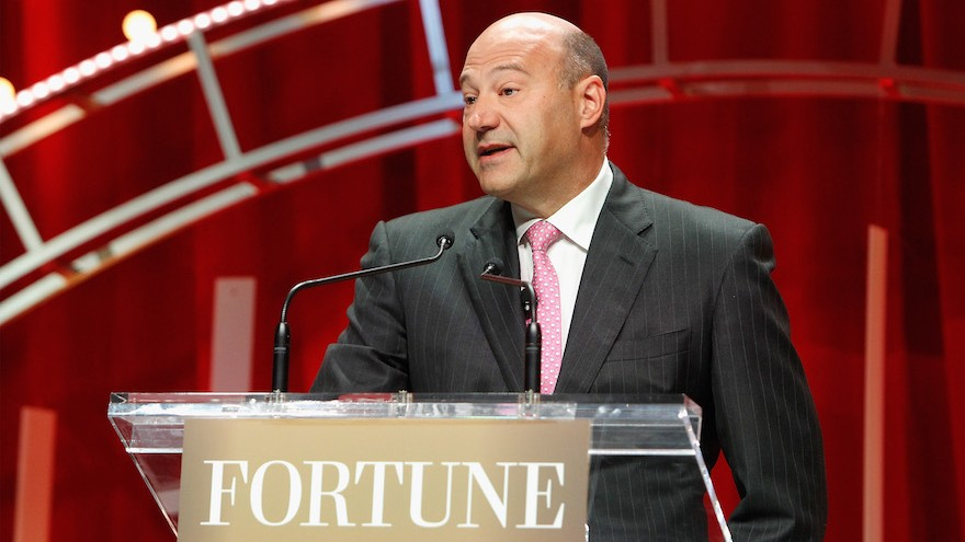 President and COO of Goldman Sachs Gary Cohn speaks onstage during Fortune's Most Powerful Women Summit at the Mandarin Oriental Hotel on October 13, 2015 in Washington, DC.