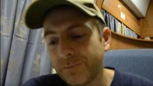 The Israeli-Ukrainian blogger Alexander Lapshin, in September 2014. (Image: YouTube screenshot)