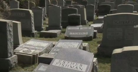 Anti-Semitism In America: Philadelphia Jewish Cemetery Vandalized, 2nd Incident In A Week