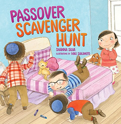 A Kar-Ben title, 'The Passover Scavenger Hunt,' which was a PJ Library pick several years back (Courtesy Kar-Ben Publishing)