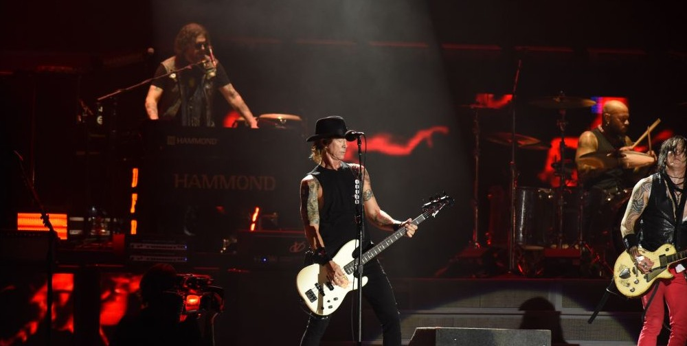 """The Guns N' Roses """"Not in this Lifetime"""" tour is the highest grossing tour of 2017. The European leg of the tour ended in Tel Aviv on July 15, 2017. (courtesy Lior Keter)"""