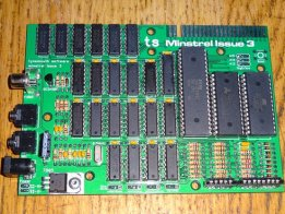 Minstrel Issue 3 - ZX81 Compatible computer kit