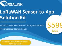 LoRa/LoRaWAN Temp&Hum Sensor to App Solution Kit