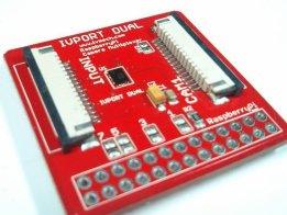 IVPort Dual V2 Raspberry Pi Camera Multiplexer