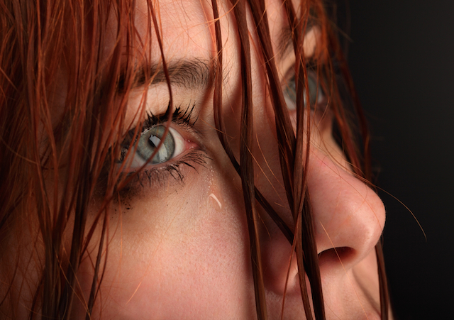 Woman with Tear