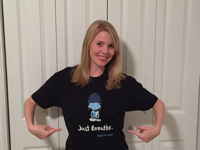 Lori Deschene Just Breathe Shirt