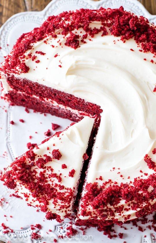 Very Moist Red Velvet Cake Recipe