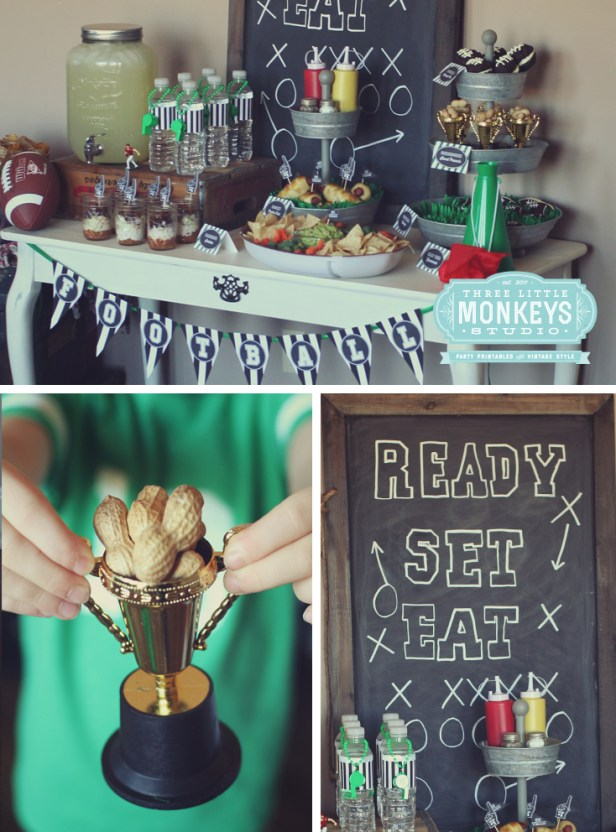 football party {free printables}