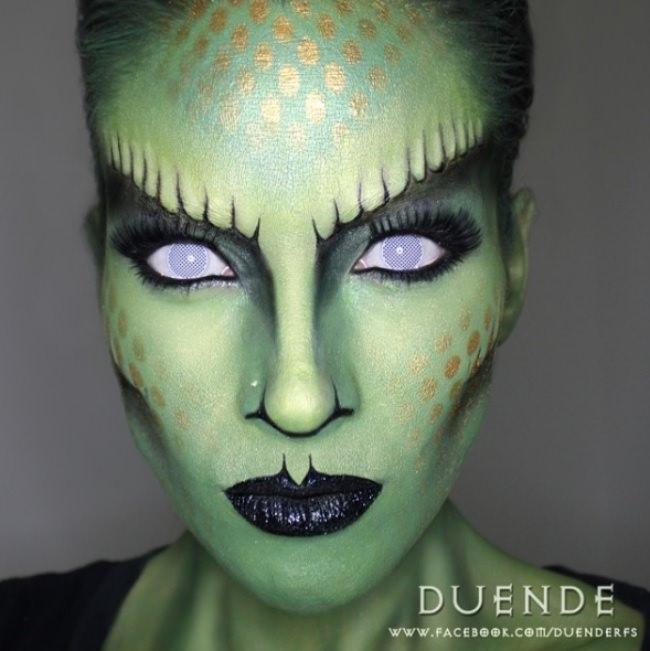 Animal Halloween Makeup Tutorials
