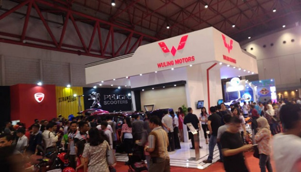 Di Jakarta Fair, Wuling Confero S Dijual Seharga Mobil LCGC