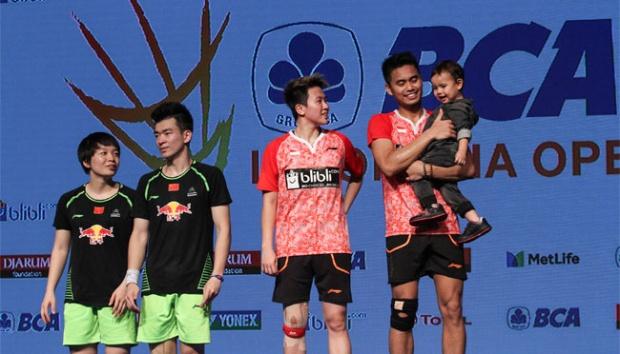 Juara Indonesia Open, Tontowi / Liliyana Bidik Emas Asian ...