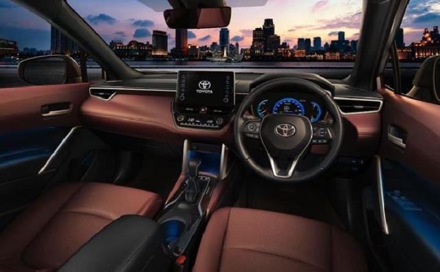 Desain Interior Toyota Corolla Cross