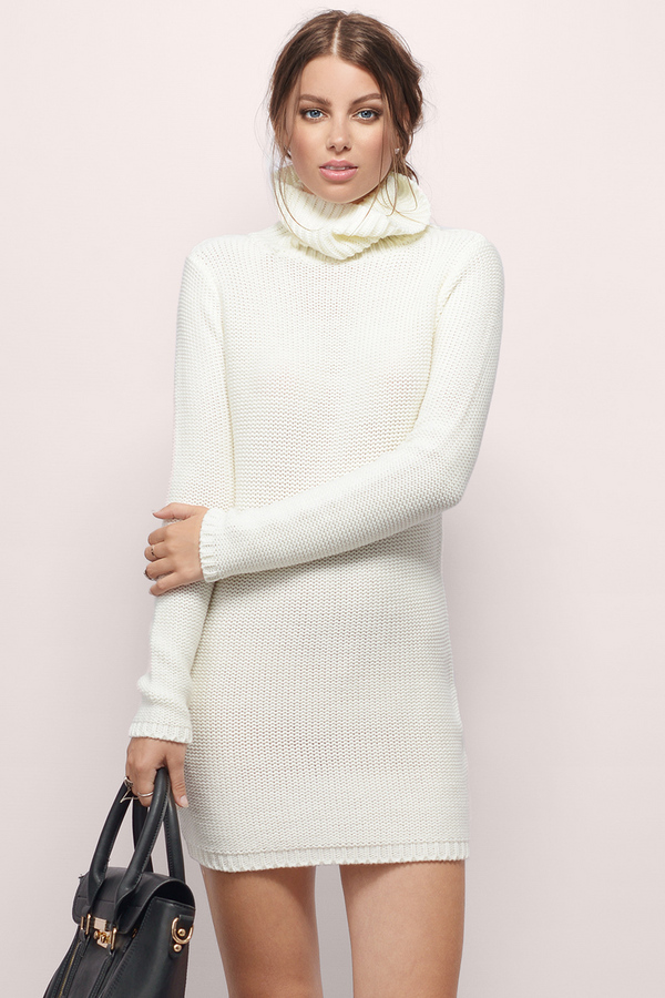 Nestled Up Sweater Dress