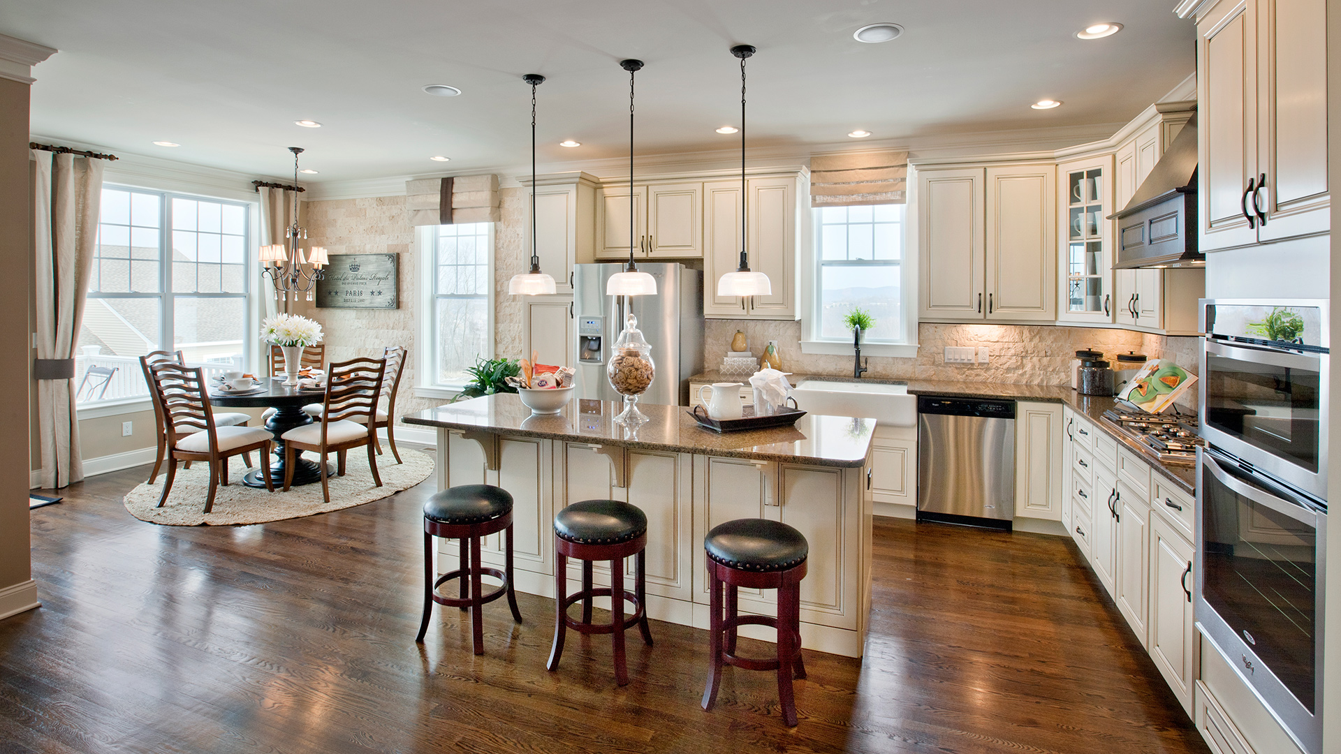 Best Kitchen Gallery: Kitchen Inspiration Gallery Toll Brothers® Luxury Homes of Luxury Home Kitchens on rachelxblog.com