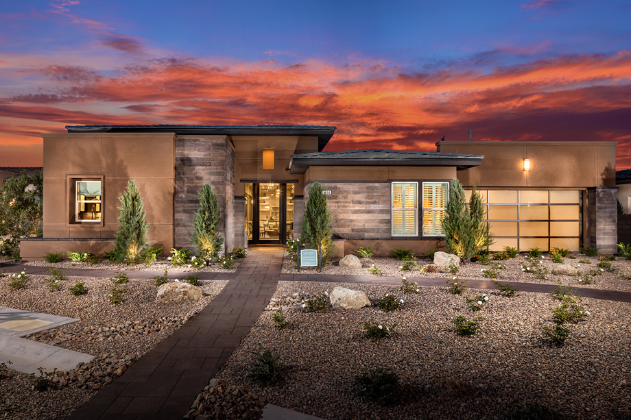 Regency At Summerlin Pinnacle Collection The Wakefield NV Home Design
