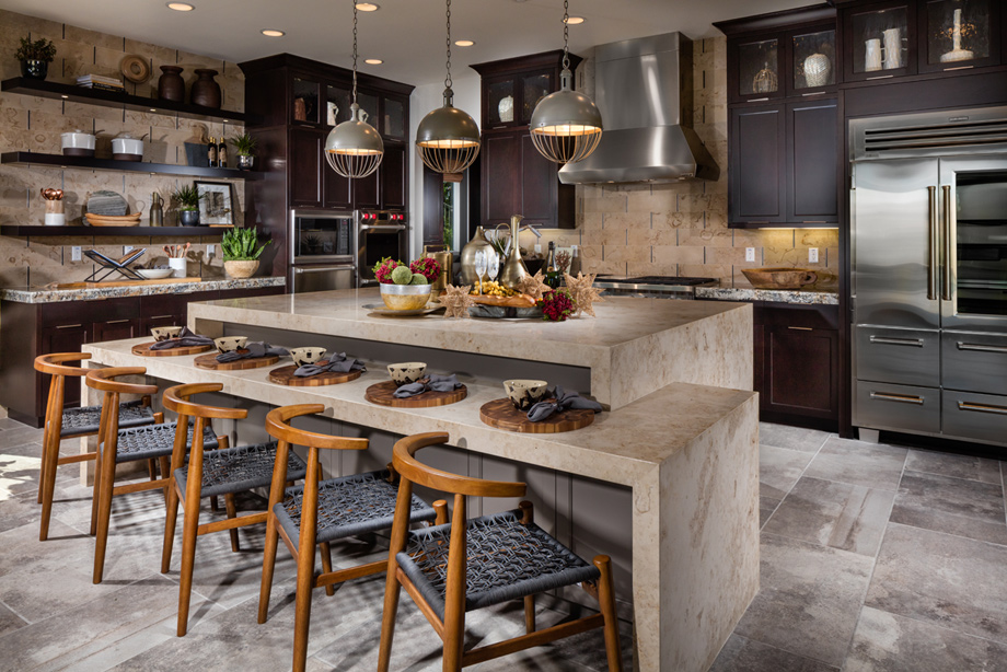 Open House Plans Large Kitchens