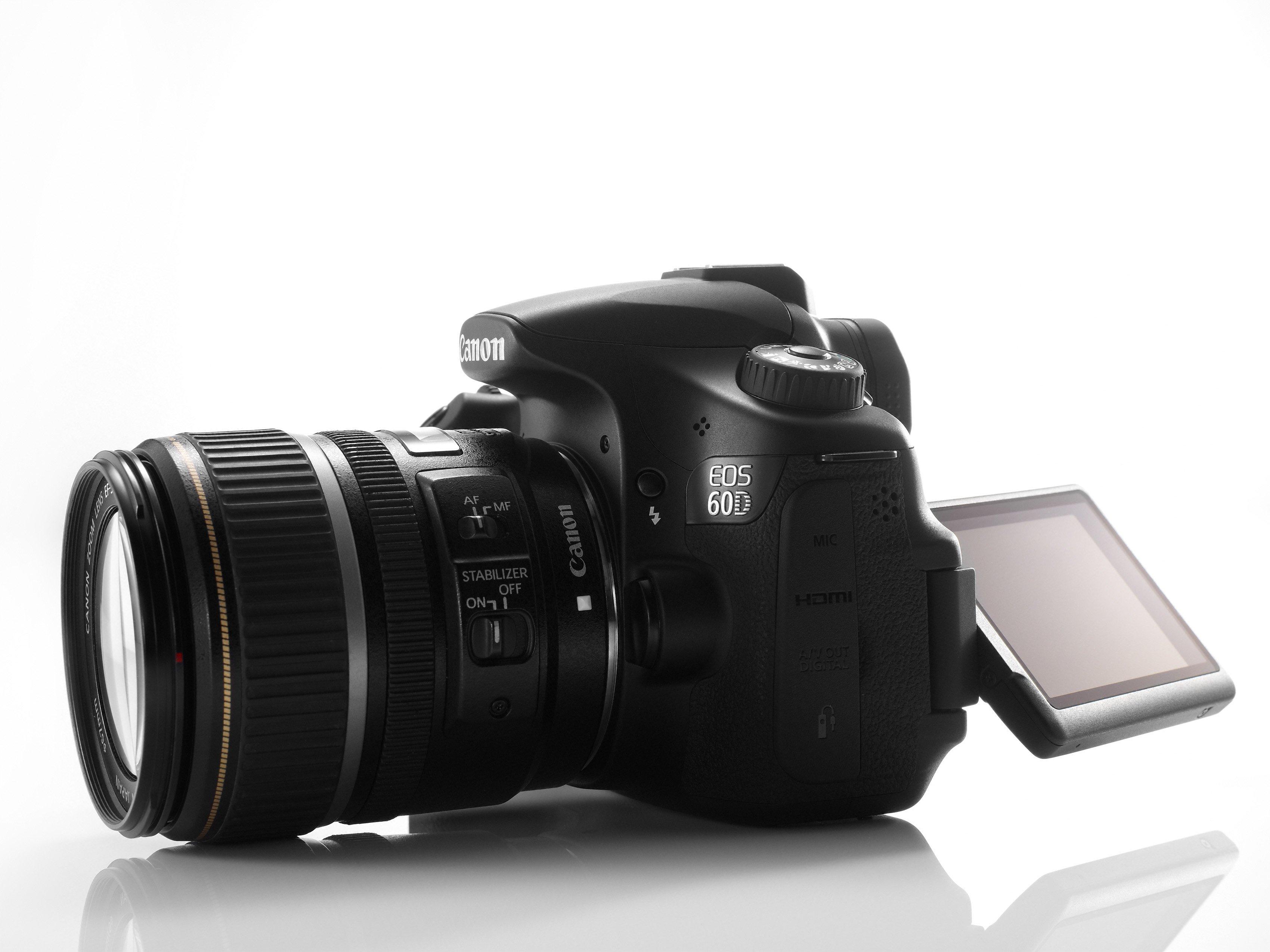 canon officialise son reflex 60d avec