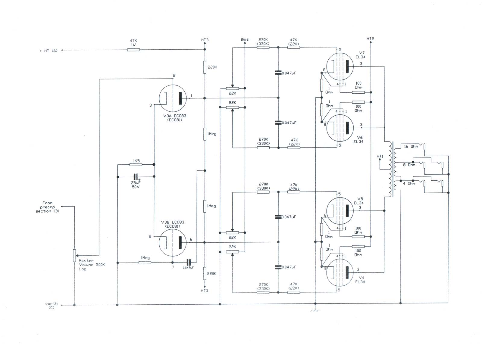 2 Amp 2 Capacitor Wiring