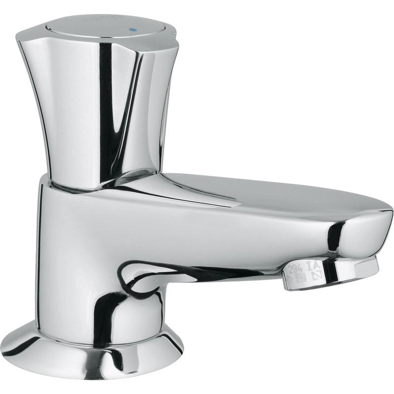 robinet lavabo grohe costa chrome brillant
