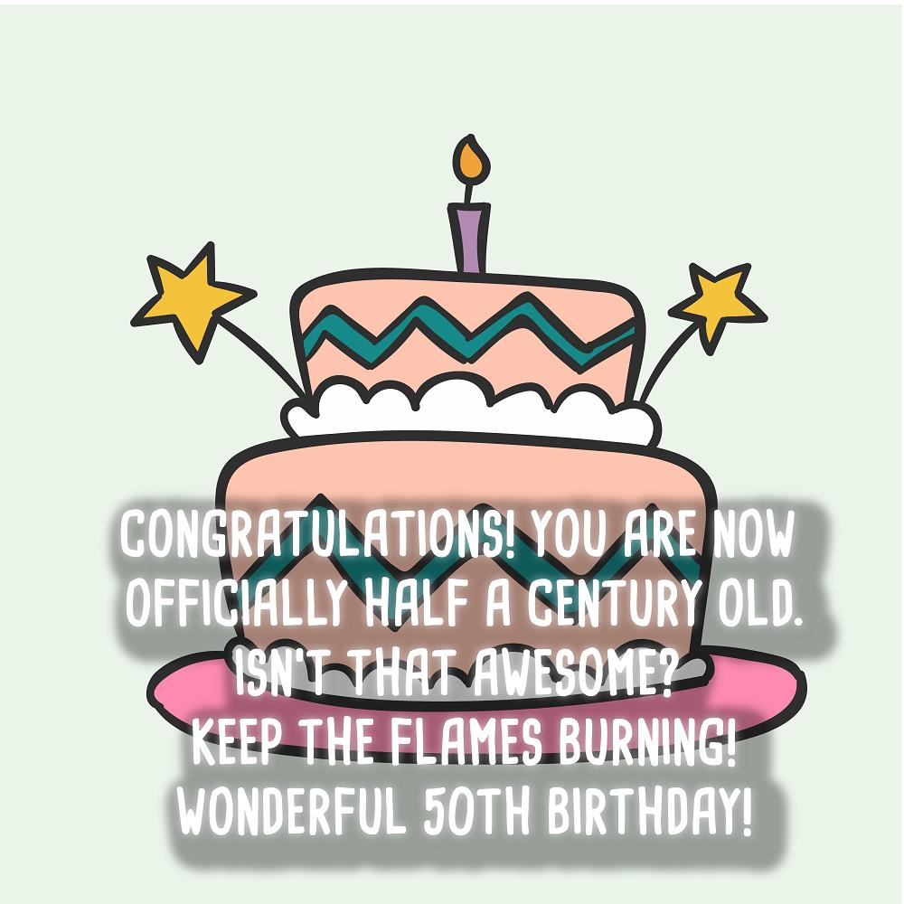 Best 50th Birthday Sayings Top Happy Birthday Wishes