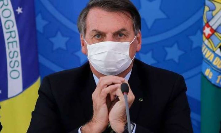 Exames de Bolsonaro para coronavírus têm resultado negativo