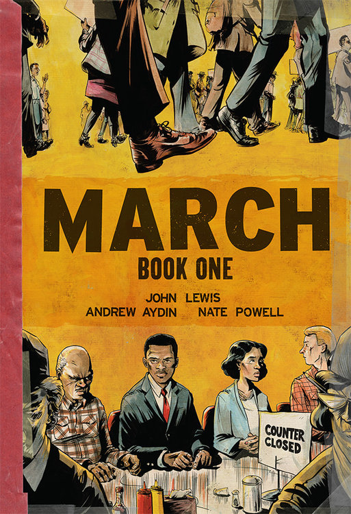 Image result for march book 1