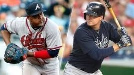 Uribe )left) and Johnson (right). Photo from fox sports.com